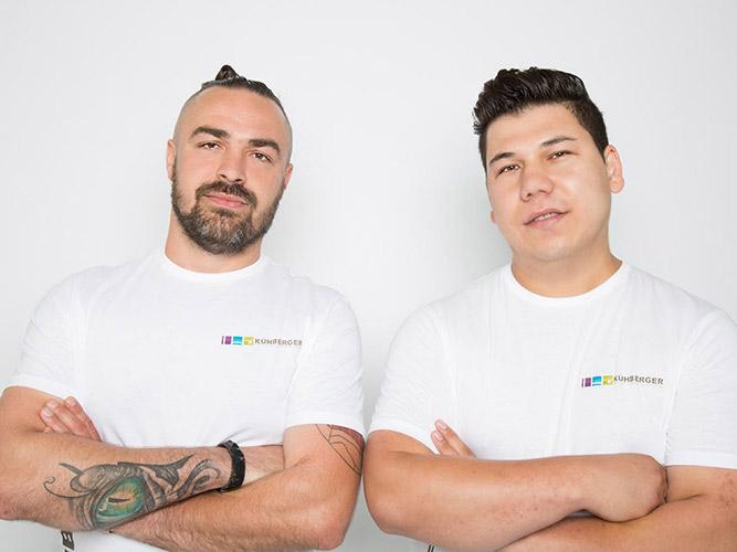 Team, Mitarbeiter, Kühberger GmbH