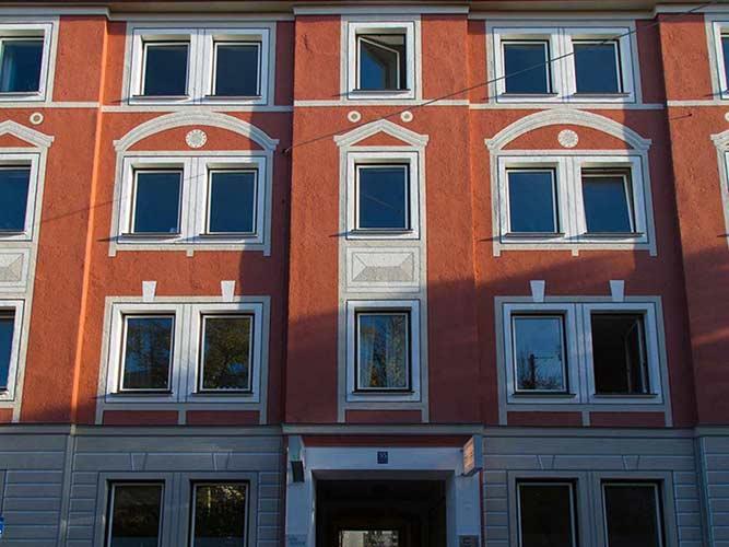 Kühberger GmbH, Malerarbeiten, Fassadenrestaurierung